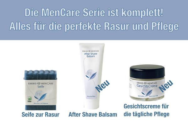 Neue EMIKO MenCare Produkte
