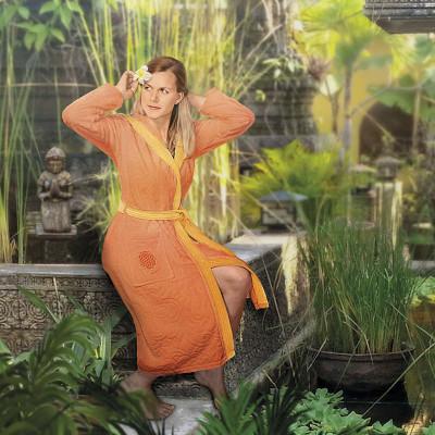 Bademantel Orange: 109,80 €