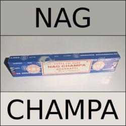 NAGCHAMPA blau Räucherstäbchen