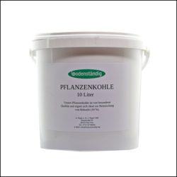Bodenständig Pflanzenkohle, 10 Liter