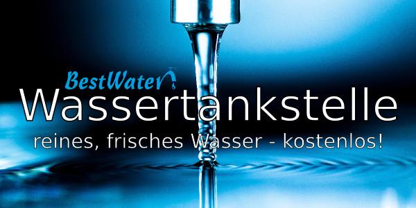 Kostenlose Trinkwasser-Tankstelle im bodenständig!
