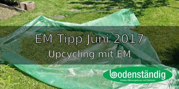 EM Tipp Juni 2017 – Upcycling mit EM