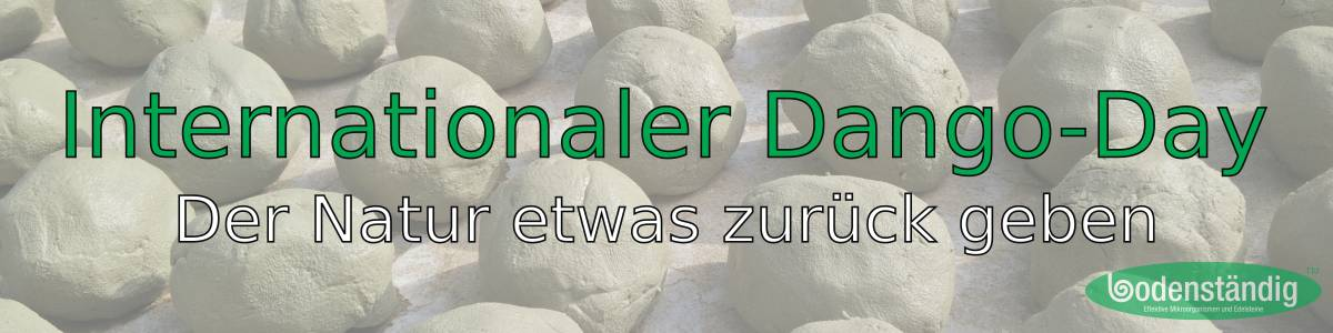 bodenständig internationaler Dango Day