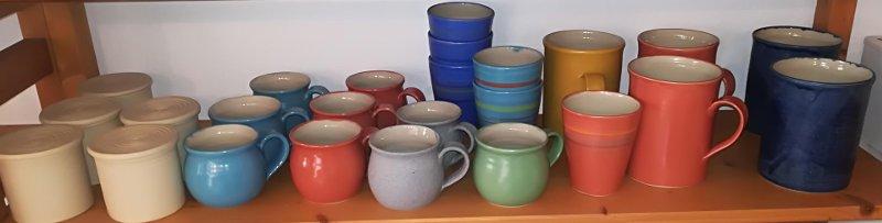 Keramik mit EM effektive Mikroorganismen, Tassen, Gewürzdosen, Jumbo-Tassen