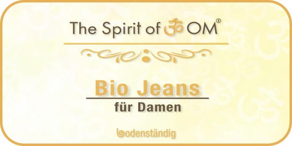 Beitragsbild Spirit of OM - Bio Jeans für Damen