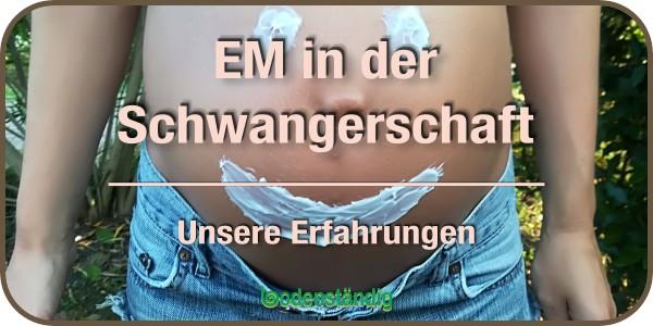 Beitragsbild EM in der Schwangerschaft