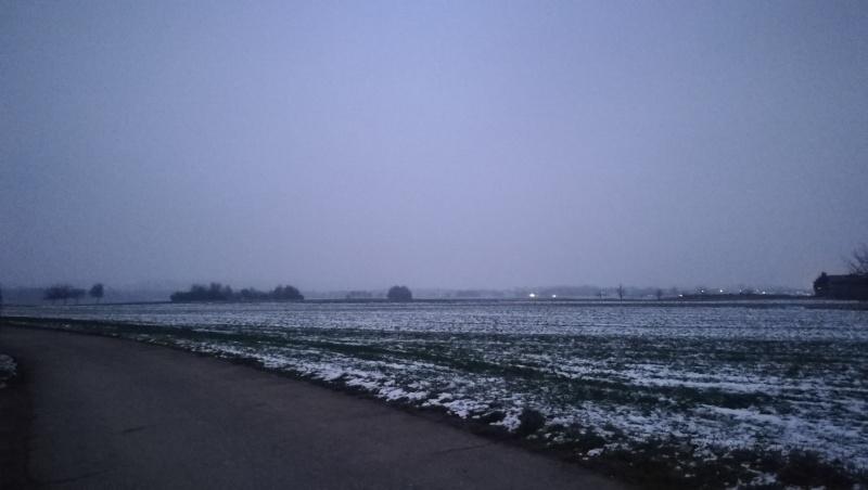 Düsterer Wintertag in Neu-Ulm