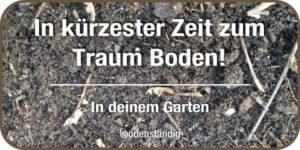 Mit EM den Gartenboden Gartenerde verbessern