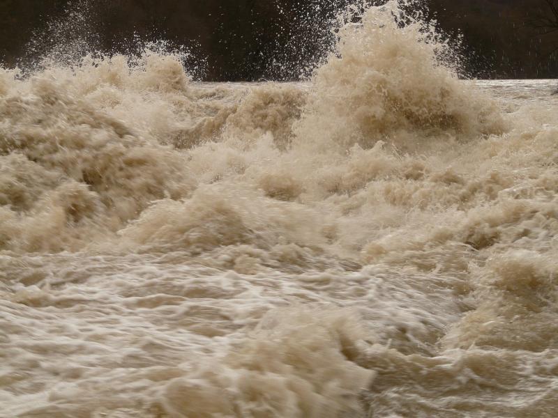 EM bei Hochwasser