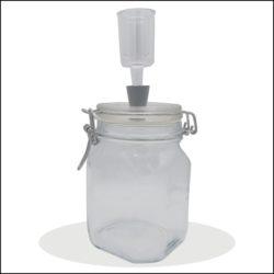 Fermentations-Glas